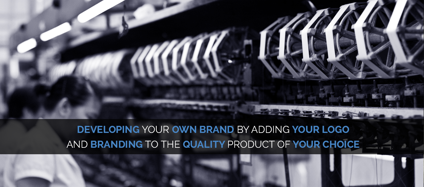 develop your own brand while exporting in china